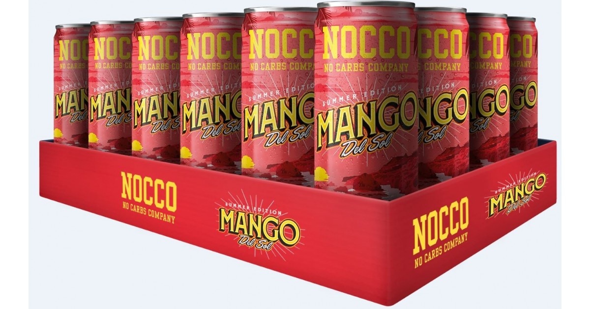 NOCCO Mango Del Sol (24x330ml)