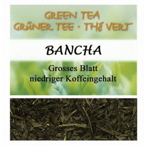 Herboristeria Grüntee Bancha (100g)