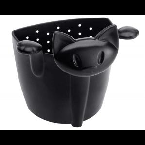 Herboristeria Tea Strainer Koziol Cat Black (1 pc)