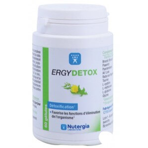 Nutergia ERGYDETOX Capsules (60 pieces)