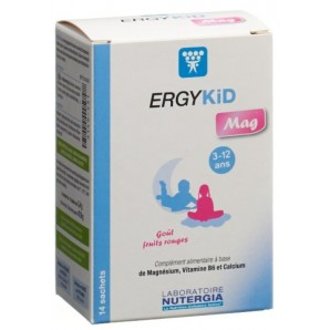 Nutergia ERGYKiD Mag Beutel (14 Stk)