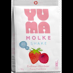 YUMA whey strawberry-raspberry (750g)