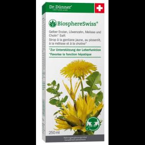 Dr. Dünner Jus de fonction hépatique de gentiane jaune (250ml)