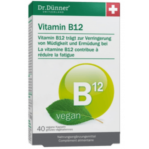 Dr. Dünner Vitamin B12 vegan Kapseln (40 Stk)