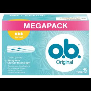 o.b. boîte normale de tampons (40 pcs)