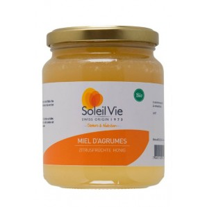 Soleil Vie Organic Citrus Fruit Honey (500g)