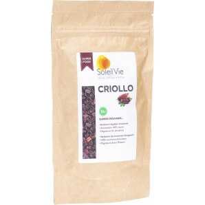 Soleil Vie Bio Roh Kakaosplitter Criollo (120g)