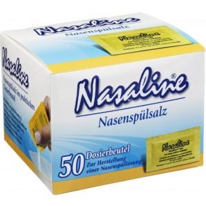 Nasaline Nasal Rinsing Salt Dosing Bags (50 pieces)