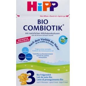 Hipp BIO COMBIOTIK 3 Bio Folgemilch (800g)