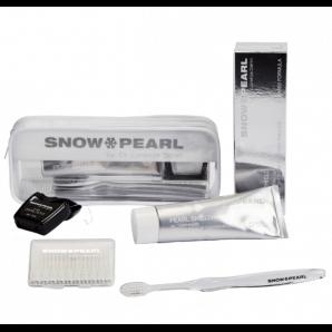 Snow Pearl Pearl Shield blanc le kit de voyage