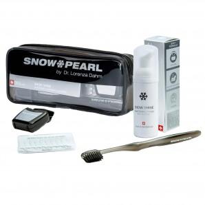 Snow Pearl Snow Shine noir le kit de voyage