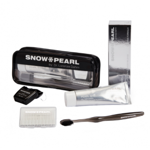 Snow Pearl Pearl Shield noir le kit de voyage