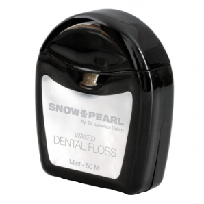 Snow Pearl dental floss waxed mint (50m)