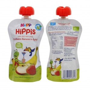 Hipp Erdbeere-Banane In Apfel Quetschbeutel (100g)