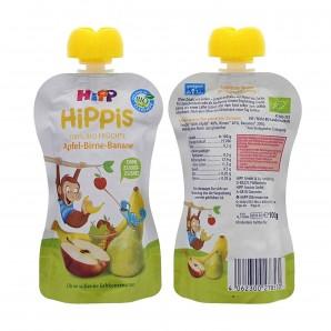 Hipp Apple-Pear In Banana Squeeze Bag (100g)