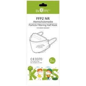 Dr. ITC FFP2 respirator mask white for children (10 pieces)
