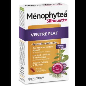 Menophytea Silhouette Ventre Plat Kapseln (30 Stk)