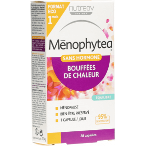 Menophytea Hot Flashes Capsules Without Hormones (28 pieces)