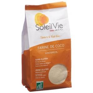 Soleil Vie Farine de Coco Bio Sans Gluten (400g)