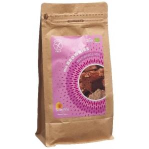 Soleil Vie Mix Brownies Bio Sans Gluten (500g)