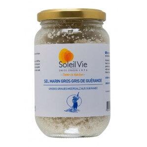Soleil Vie Gray Sea Salt from Guérande (300g)