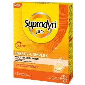 Supradyn pro Energy-Complex effervescent tablets (45 pieces)