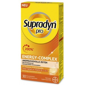 Supradyn pro Energy-Complex effervescent tablets (30 pieces)