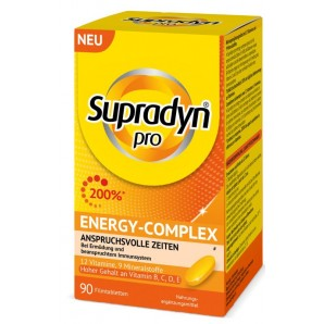 Supradyn pro Energy-Complex film-coated tablets (90 pieces)