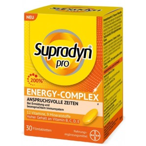 Supradyn pro Energy-Complex film-coated tablets (30 pieces)