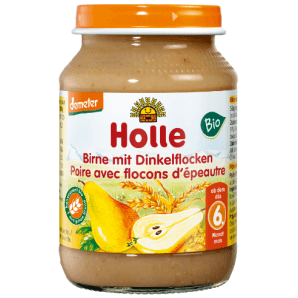 Holle pear with spelled flakes organic (190g)