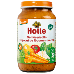 Holle vegetable risotto organic (220g)