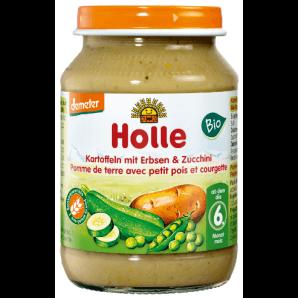 Holle Kartoffeln mit Erbsen & Zucchini bio (190g)