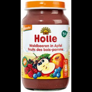 Holle walberries in apple organic (220g)