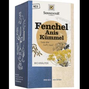 Sonnentor Fennel Anise Caraway Organic Herbal Tea (18x1.7g)