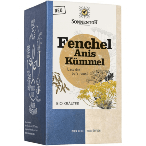 Sonnentor Fenchel Anis Kümmel Bio Kräutertee (18x1.7g)