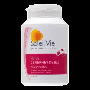 Soleil Vie Wheat Germ Oil Capsules (90 pcs)