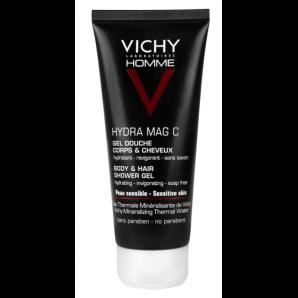 Vichy Homme Hydra Mag C Shower Gel (2x200ml)