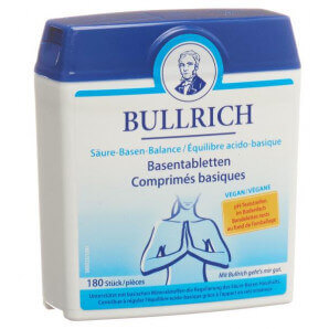 Bullrich acid-base balance tablets (180 pieces)