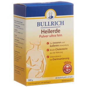 Bullrich healing earth powder ultrafine (500g)