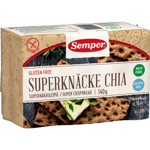 Semper - Superknäcke Chia glutenfrei (140g)