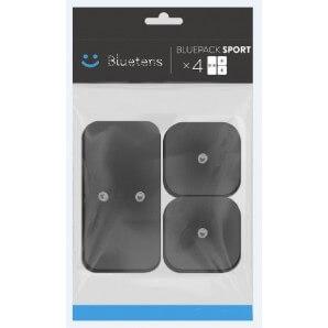 Bluetens Duo Sport électrodes de remplacement (4 pièces)