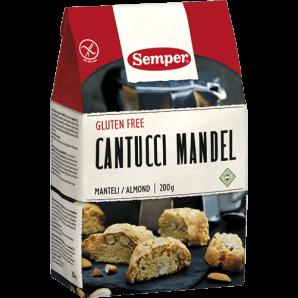 Semper - Cantucci Mandel glutenfrei (200g)