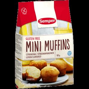 Semper - Mini Muffins Zitrone glutenfrei (185g)