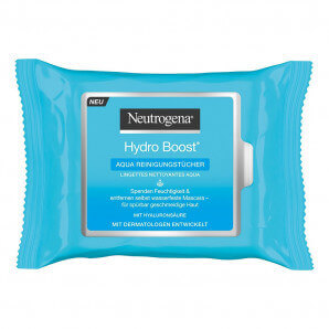 Neutrogena Hydro Boost Aqua cleaning wipes (25 pcs)