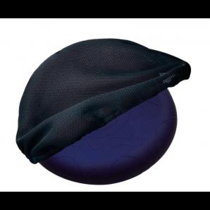 Sissel Sitfit Coussin D'Assise Bleu Avec Housse Airmesh Noir (36cm)