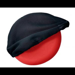 Sissel Sitzkissen Sitfit Rot Inkl. Airmesh-Bezug Schwarz (33cm)