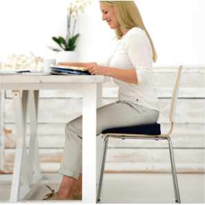 Sissel Wedge Cushion Sit Standard Black (35x35cm)