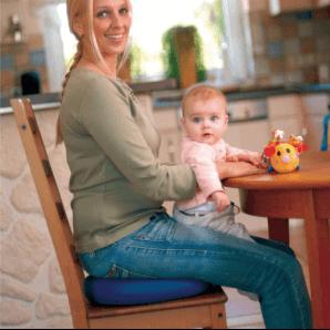 Sissel Sitzkissen Sitfit Plus Blau (37cm)