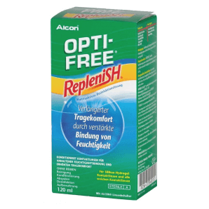 OPTI-FREE Replenish Disinfectant Solution (120ml)