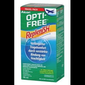 OPTI-FREE Replenish Desinfektionslösung Travel Pack (90ml)